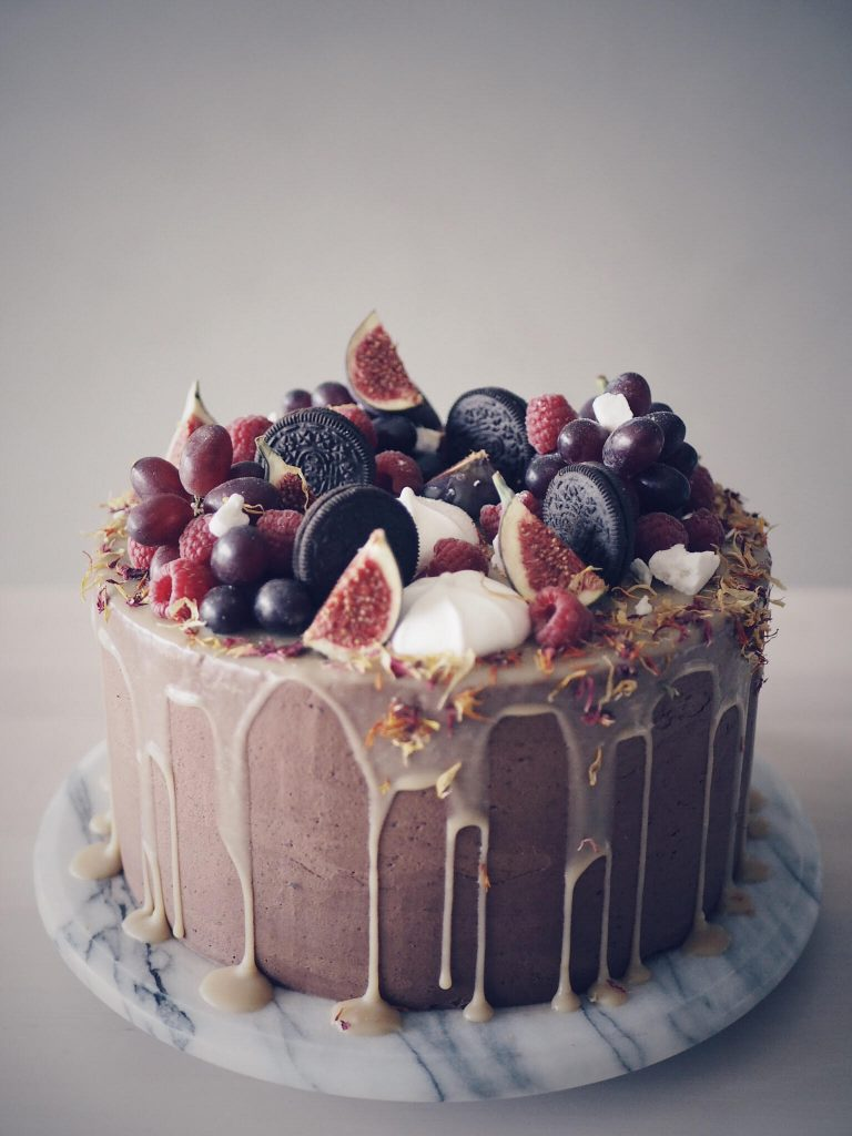 vegan tårta recept