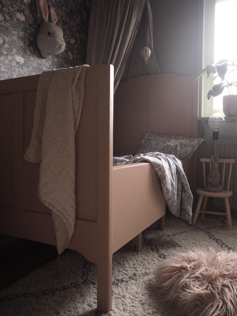 Nordsjö barnsäng barnrum makeover