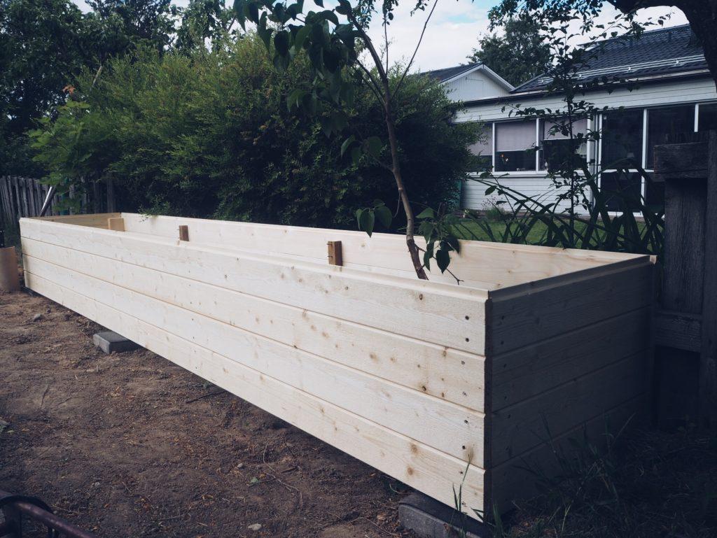 hur man bygger en odlingslåda planteringslåda
