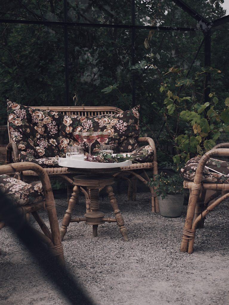 växthus uterum greenhouse rotting möbler trädgård