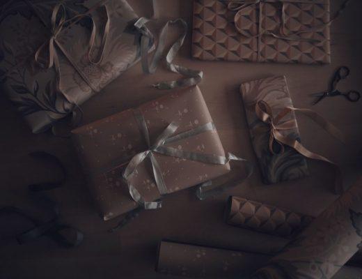 paketinslagning paket present sandberg wallpaper tapeter slå in paket