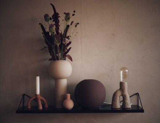 Keramik lera vas cooee gör en lampa